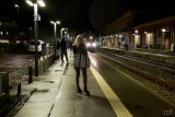 Late train home / Sidste tog hjem