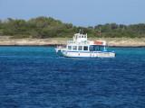 Aqua Bus Ferry Coqueta Outside La Savina