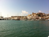 Waiting On The Ferry At Eivissa (Ibiza)