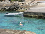 The Swimmer - Es Calo Harbour