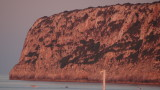 Setting Sun Shines On La Mola - Looks Like Meat!