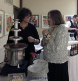 Paula and the Chocolate Fountain