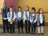 School Children Performing at Mount Auburn Hospital