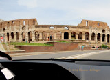 Passing the Collisseum