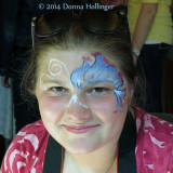 Facepainting by Charlotte