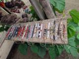 Bracelets, Bowls carved Animals, from Yagua Village