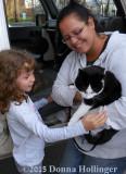 Admiring the Post Kitty Marina and Hailey