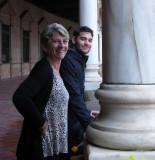 Nancy and JonCarlo in Seville