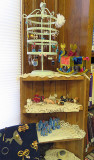 Library Sale, Jewelry Display