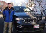 Domenic with his GC Jeep