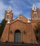 church blue sky