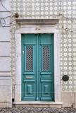 Tavira cyan door