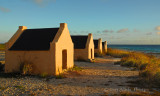 red huts Bonaire