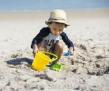 Gavin in sand