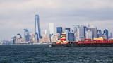 Tug in NY Harbor