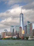Lower Manhattan, from the water