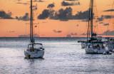 Caribbean dusk