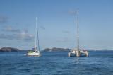 catamaran at rest