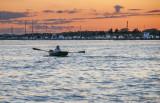 Rowboat at Twilight