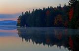 Early Morning on Smoke Lake