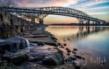 Twin Bridges in January