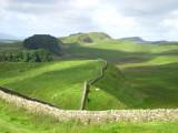 Hadrian's  Wall, looking  west