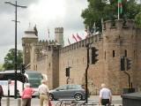 Cardiff  Castle  walls.