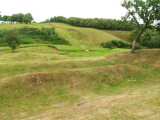 The  Antonine  Wall  approaching  Rough  Castle.