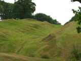 The  Antonine  Wall  and  wall ditch, remains  thereof.