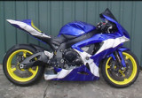 An  R1  dressed  in  The  Saltire.
