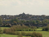 St. Mary's  church  and  the  town  of  Rye.