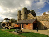 Cannons  outside  Rye  Castle.(The Ypres Tower)