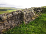 A  very  interesting  stretch  of  Hadrian's  Wall , remains  thereof.