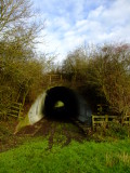 The  Greensand  Way  tunnel  under  the  A21 dual  carriageway