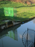 Fences , shadows  and  reflections