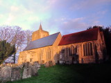 Early  sunshine  on  the  Grade II Listed  church  of  St. Michael
