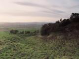 Rockhall  mote ; the  rock  cut  ditch