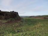 Rockhall  mote ; the  rock  cut  ditch(2)