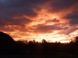 Sunrise  at  Walltown  Crags  Car  Park.