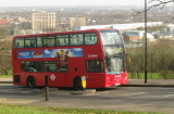 A  Route  W3  double  decker  climbs  to  the  Ally  Pally.
