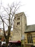 The  Saxon  Church  tower.
