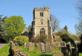 East  Sutton  Church, looking  east.