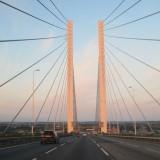 Dartford  Bridge ; the  descent  into  Kent