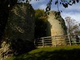 Knaresborough  Castle  : The  main  gate