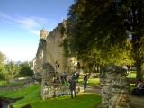 Knaresborough : The  castle  gardens