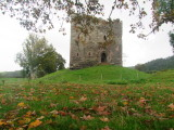 The  much  renovated  Hopton  Castle  keep.