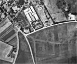 Aerial  photograph  of  large  Roman  Fort  at  Pakenham.