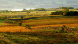 It's difficult to see from here,but a 3rd century Roman Road runs near to the stile,across the image ,L to R.