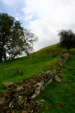The  northern  ascent  to  Cefn-llys  castle. 1