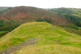 Cefn-llys  castle 2 ; the motte .
